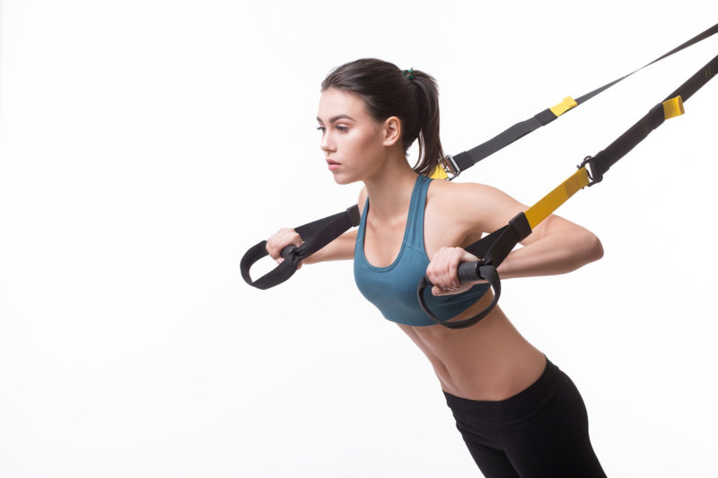 TRX en Kinesys Pilates Center Sabaris Baiona